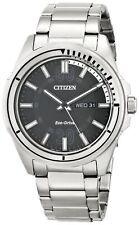 New Men's Citizen Eco-Drive Stainless Steel Case & Bracelet AW0031-52E