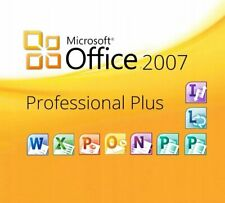 Microsoft Office 2007 Professional CD 12 Computers Full Version!