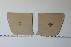 Chrysler Valiant CHARGER VH, VJ, VK, CM, CL Kick Panels. 2.5mm Quality Masonite