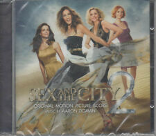 Sex and the City 2 Original Motion Picture Score CD NUOVO Aaron Zigman