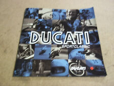 Ducati Sport Classic sales brochure