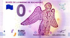 17 ROCHEFORT Musée de la Marine 2, Figure de proue, 2018, Billet 0 € Souvenir