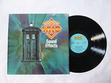 DOCTOR WHO SOUND EFFECTS ~ BBC NO. 19 ~ REC 316 ~ EX+/VG+ ~ 1978 UK VINYL LP