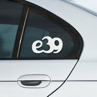 BMW e39 window windshield sticker stance drift sport decal