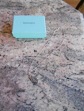 Tiffany & Co  Silver ' Please Return To ' Dog Tag ID Necklace Genuine
