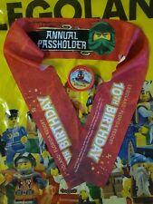 Legoland Florida Commemorative Ninjago Days Annual Pass Pop Badge & Bandana 2021