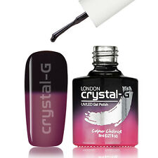 Crystal-g Salon UV Colour Change 8ml Uv/led Soak off GEL Nail Polish Th37