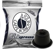 600 CAPSULE BORBONE MISCELA NERA COMPATIBILI NESPRESSO CAFFE' CIALDE REspresso