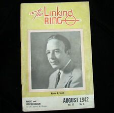 Magicians Magazine Linking Ring Aug 1942