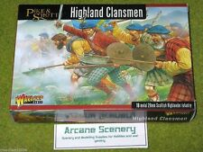 ECW Highland Clansmen Warlord Games Pike & Shotte 28mm