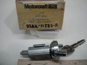 NOS Genuine Ford 1970 Shelby GT350 GT 500 Ignition Switch Cylinder and Key