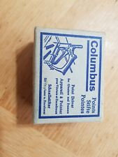 Vintage Columbus points for  framers approximately 5000