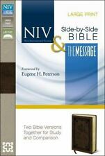 NIV, THE MESSAGE, PARALLEL BIBLE