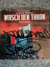 Sido & Kool Savas - Wasch den Thron Tourmixtape mit orig. Autogrammen