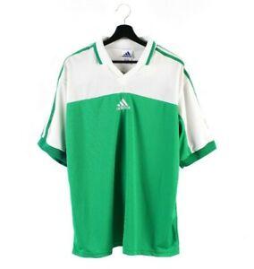 90s NOS adidas EQT Equipment vintage jersey t-shirt OG tshirt No 3 Greece XL