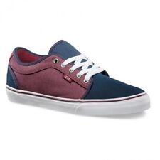 VANS Chukka Low (Oxford) Navy/Port Men's Classic Skate Shoes SIZE 11