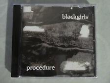 Black Girls - Procedure CD (1989)
