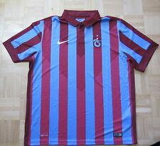 Trabzonspor Turkey home shirt jersey NIKE 2014-2015 Bordo-Mavililer men SIZE XL