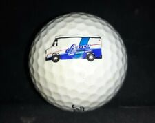 Artco Industrial Laundries logo Titleist golf ball