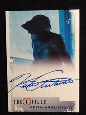 """The X Files 2018 Autograph Card Keith Arbuthnot as Ghouli in """"Ghouli"""""""