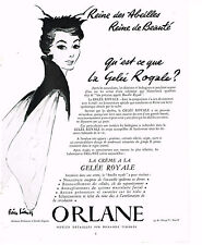 PUBLICITE ADVERTISING 024   1953   ORLANE   cosmétiques   GELEE ROYALE 2