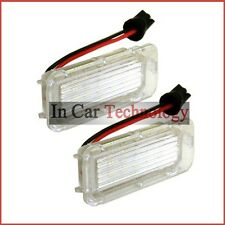 2x Ford S-Max (06-16) NUMBER PLATE LIGHT LED UPGRADE REPLACE OEM LAMPS HOLDER