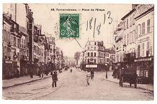 CPA 77 - FONTAINEBLEAU (Seine et Marne) - 48. Place de l'Etape. L. D.