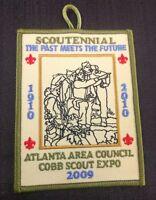 Boy Scouts Scoutennial 2009 Atlanta Patch Cub Scout