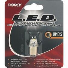 Dorcy 4.5V to 6V LED Replacement Flashlight Bulb 41-1644  - 1 Each