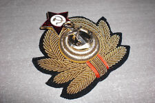 CCCP insigne/cocarde brodé Marine Naval Soviétique russe casquette URSS