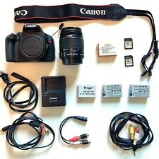 Canon EOS T2i / 550D 18.0MP DSLR , 18-55 IS Kit lens, + Extras (See Description)