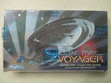 STAR TREK VOYAGER SERIES ONE COLLECTOR CARD PACK BOX 36 PACKS FACTORY SEALED MIB