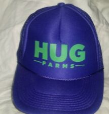 Purple Snap Back Otto Collection Hats Trucker Hat HUG FARMS Advertising A4