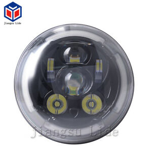 Black LED Headlight Headlamp  for Ducati Scrambler