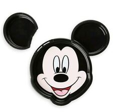 Disney Store Mickey Mouse Face Clip Plate Meal Time Magic Collection 3 in 1