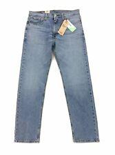 NEW Levi's Strauss 502 Regular Taper Tencel Stretch Mens Denim Jeans Blue 33x32