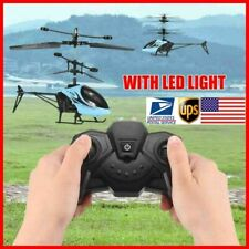 2 Ch Mini Rc Drone Helicopter Kids Outdoor Toys Remote Control Aircraft Heli