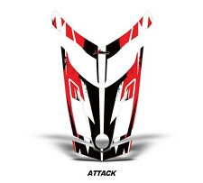 Ski Doo Rev XR GSX Summit Sled Sticker Decal Hood Graphic Kit 2013 ATTACK - RED