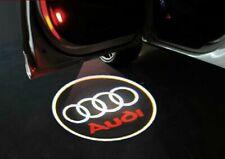 Proyección de luz LED de 2x coche Cortesía Logo charco Shadow 3D láser para Audi