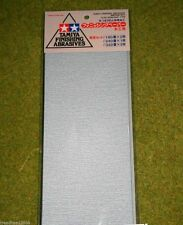 Tamiya Finishing Abrasives medio Set 5 Hojas 87009