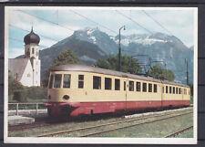 Grüße von einer schönen Triebwagenfahrt der Deutschen Reichsbahn