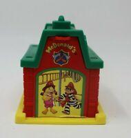 Vintage 1993 McDonalds Firehouse Happy Meal Toy w/ Hamburglar & Birdie