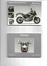 Manual del propietario HONDA NC700X/XA/XD 2012/2013  ENVIO GRATIS EN EL  MUNDO