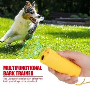 Bark Remote Ultrasonic Harmless Anti-Barking Device Aggressive Dogs Away-New