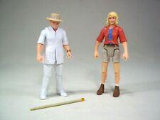 Jurassic World Legacy John Hammond Ellie Sattler Figure Lot Jurassic Park Mattel