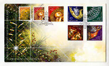 NEW ZEALAND - Scott 1890-1896 - 2003 Christmas Decorations FDC