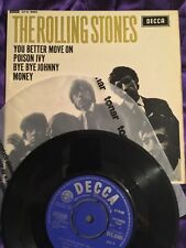 The Rolling Stones - You Better Move On - EP - 1964 First Press 1K/1K Poison Ivy