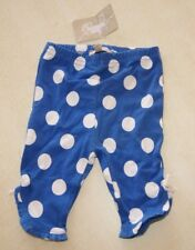 Pantalon bleu et blanc neuf taille 3 mois marque Grain de Blé étiqueté à 8,99€