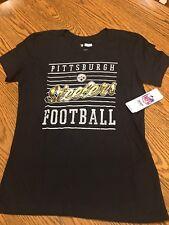 54c447d24 Pittsburgh Steelers NFL Women s Short Graphic T-shirt Size Medium