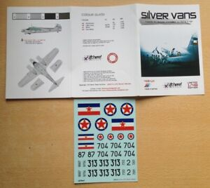 LIFT HERE decals 418-LH  1/48  Yugoslav Anson, Oxford C-47 and Ju 52